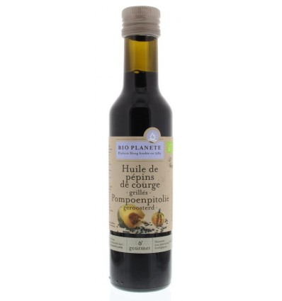 Bio Planete Pompoenpitolie geroosterd 250 ml | € 11.15 | Superfoodstore.nl