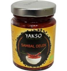 Yakso Sambal oelek 100 gram | € 1.50 | Superfoodstore.nl