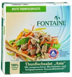 Fontaine Aziatische tonijnsalade 200 gram | Superfoodstore.nl