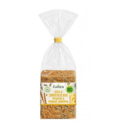 Crackers DR Karg Spelt met emmenthaler 200 gram kopen