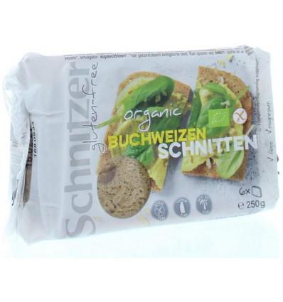Schnitzer Boekweitbrood glutenvrij 250 gram | Superfoodstore.nl
