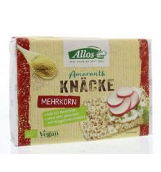 Allos Knackebrod amarant meergranen 250 gram | Superfoodstore.nl