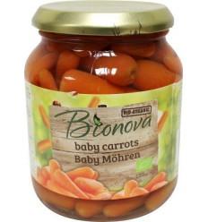 Bionova Baby worteltjes 340 gram | Superfoodstore.nl