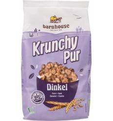 Barnhouse Krunchy pur spelt suikervrij 375 gram |
