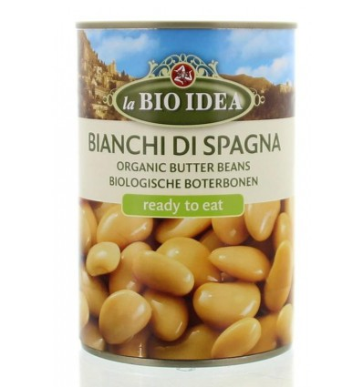 Peulvruchten Bioidea Boterbonen Limabonen 400 gram kopen