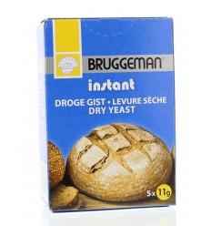 Bruggeman Instant gist (5 x 11 gram) 55 gram | Superfoodstore.nl