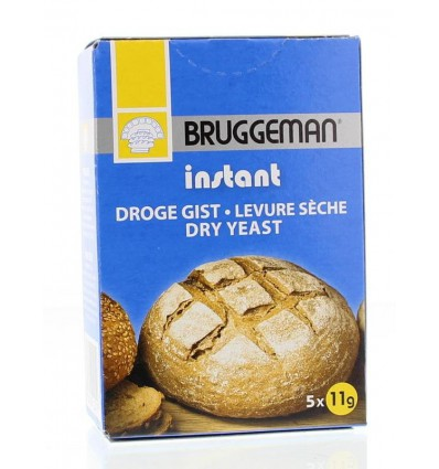 Bruggeman Instant gist (5 x 11 gram) 55 gram | € 2.52 | Superfoodstore.nl