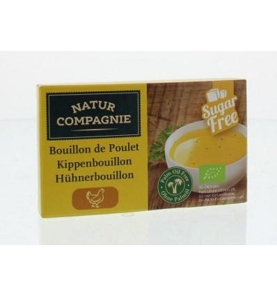 Natur Compagnie Kippenbouillon 8 blokjes 88 gram   € 1.85   Superfoodstore.nl