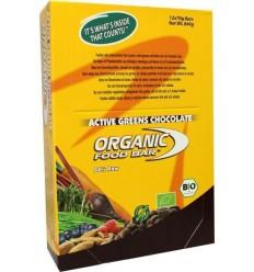 Organic Food Bar Bar active greens chocolade 68 gram 12 stuks | € 40.90 | Superfoodstore.nl