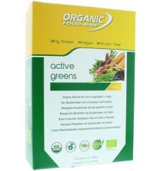Organic Food Bar Bar active greens 68 gram 12 stuks | € 40.90 | Superfoodstore.nl