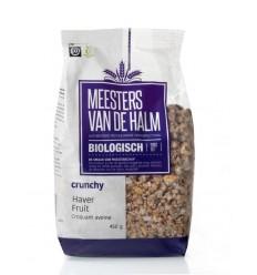 De Halm Haver crunchy fruit 450 gram   Superfoodstore.nl