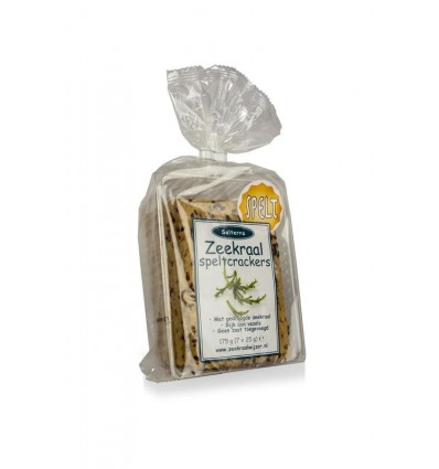 Your Well Zeekraal crackers spelt 7 stuks | € 2.60 | Superfoodstore.nl