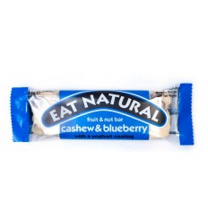 Eat Natural Cashew blueberry yoghurt 45 gram | € 1.38 | Superfoodstore.nl