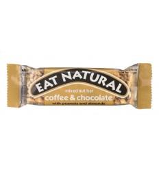 Eat Natural Coffee chocolate peanut 45 gram   Superfoodstore.nl