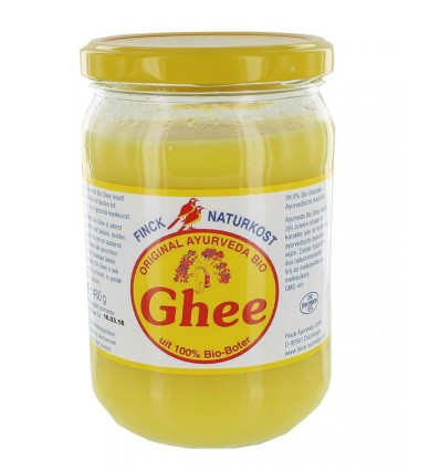 Geklaarde Boter Ghee Finck naturkost 480 gram kopen