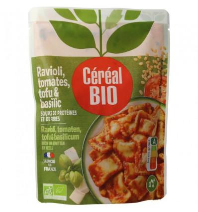 Cereal Ravioli tofu tomaat basilicum 267 gram |