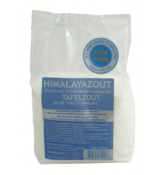 Esspo Himalayazout tafelzout wit fijn navul 950 gram | € 7.79 | Superfoodstore.nl