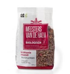 De Halm Muesli krokante muesli bosvruchten 500 gram | € 3.78 | Superfoodstore.nl