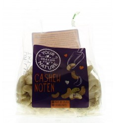 Your Organic Nature Cashew noten bio 120 gram | € 2.91 | Superfoodstore.nl