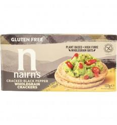 Nairns Cracker pepper 137 gram | Superfoodstore.nl