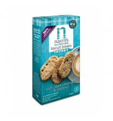 Nairns Biscuit breaks pure chocolade & kokos 160 gram |