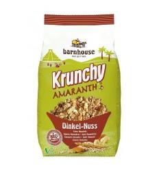 Barnhouse Krunchy amaranth spelt amandel 375 gram |