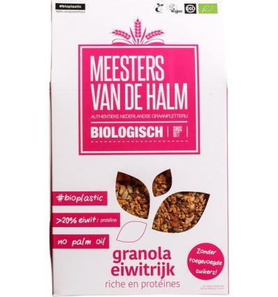 Ontbijtgranen De Halm Granola eiwitrijk 350 gram kopen