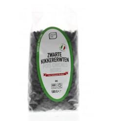 Greenage Zwarte kikkererwten 500 gram | € 3.06 | Superfoodstore.nl