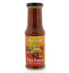 Amaizin Taco saus hot 220 gram | Superfoodstore.nl