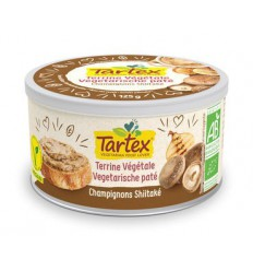 Tartex Pate champignon 125 gram | Superfoodstore.nl