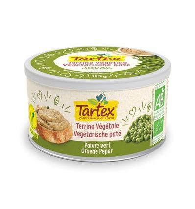 Sandwichspread Tartex Pate groene peper 125 gram kopen