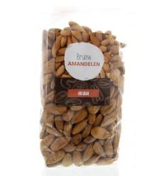 Mijnnatuurwinkel Bruine amandelen 450 gram | Superfoodstore.nl