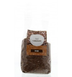 Mijnnatuurwinkel Lijnzaad heel 350 gram | Superfoodstore.nl