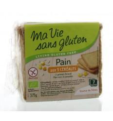 Ma Vie Sans Brood 3 granen bio - glutenvrij 375 gram  