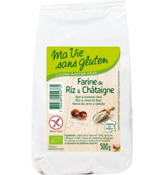 Ma Vie Sans Rijst & kastanjemeel - glutenvrij - 500 gram |