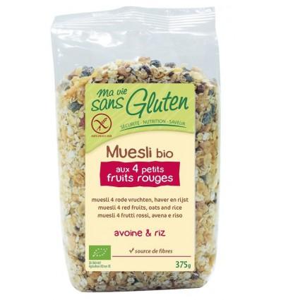Ma Vie Sans Muesli haver / rijst 4 rode vruchten glutenvrij 375