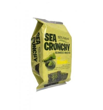 Tussendoortjes Sea Crunchy Nori zeewier snacks wasabi 10 gram kopen