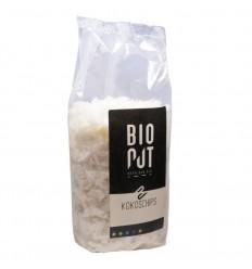 Bionut Kokos chips raw 400 gram | Superfoodstore.nl
