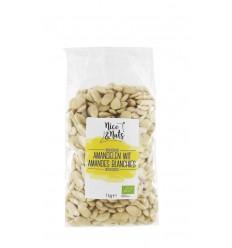 Nice & Nuts Amandelen wit 1 kg | Superfoodstore.nl