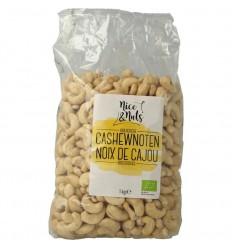 Nice & Nuts Cashewnoten 1 kg | Superfoodstore.nl