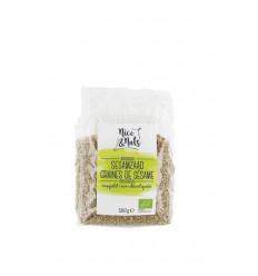 Nice & Nuts Sesamzaad ongepeld 500 gram | Superfoodstore.nl