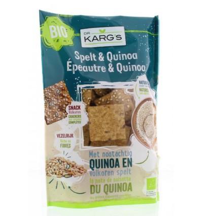DR Karg Spelt en quinoa snack 110 gram kopen