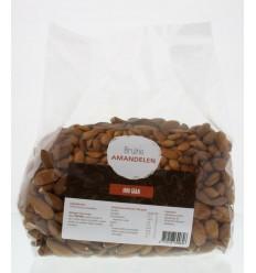 Mijnnatuurwinkel Bruine amandelen 1 kg | Superfoodstore.nl
