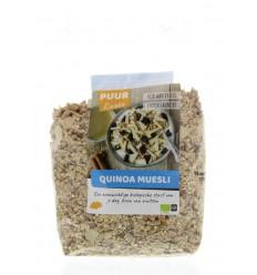 Puur Rineke Quinoa muesli 600 gram | Superfoodstore.nl