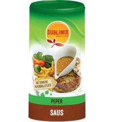 Sublimix Pepersaus glutenvrij 240 gram | Superfoodstore.nl