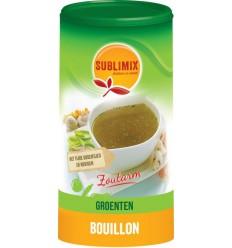 Bouillon & Aroma Sublimix Groentebouillon zoutarm glutenvrij
