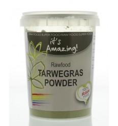 It'S Amazing Raw & organic tarwegras poeder bio 125 gram | € 7.03 | Superfoodstore.nl