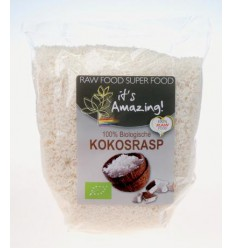 It's Amazing Kokosrasp 500 gram | Superfoodstore.nl