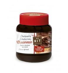 De Rit Chocoreale chocopasta puur met rietsuiker 350 gram |