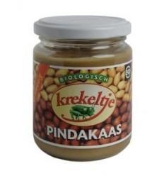 Krekeltje Pindakaas met zout eko 250 gram | Superfoodstore.nl